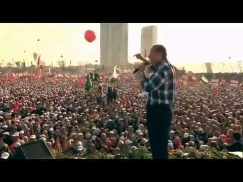 Başbakan Erdoğan Milli İradeye Saygı Mitingi İstanbul