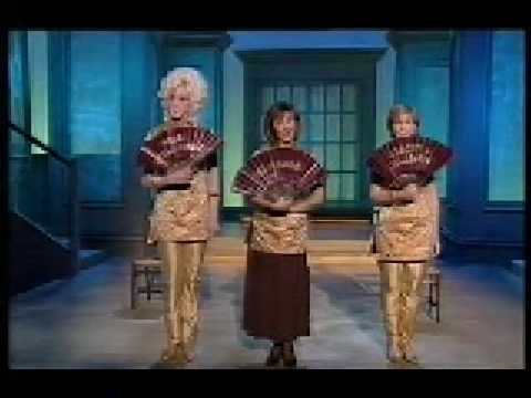 Lesley Garrett and Lily Savage - Three Little Maids