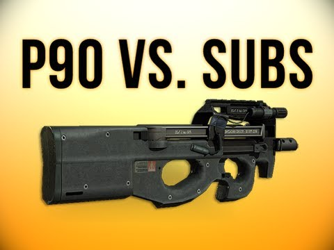 Close games vs. Subscribers & Why I like the P90 - MW3 Gameplay Commentary