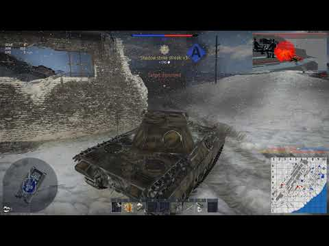 War Thunder: Panther x3 Kill of 6