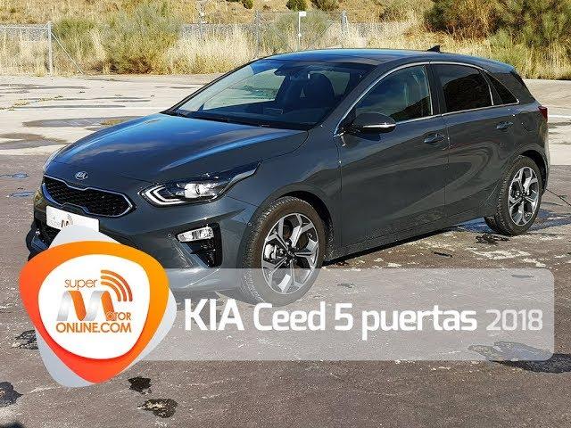 Kia Ceed 2018 / Al volante / Prueba dinámica / Review / Supermotoronline.com