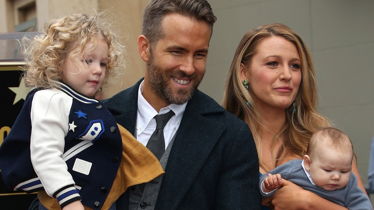 Blake Lively & Ryan Reynolds' Kids Make FIRST Public ...