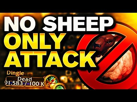 NO SHEEP. ONLY ATTACK. | 2400 BFA 3v3 PVP | Venruki