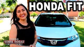 Test Drive Novo Honda FIT EXL 2016 em Detalhes