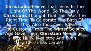 Who observes Christmas