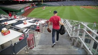 Having Nationals Park all to myself . . . almost