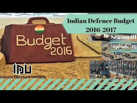 Indian Defence Budget 2016 2017