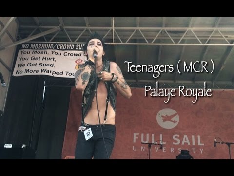 Teenagers  MCR   Palaye Royale  Vans Warped Tour 2016 Nashville