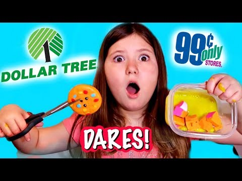 I CUT MY FIRST SQUISHY! AND SQUISHY AND SLIME SHOPPING AT DOLLAR TREE AND 99CENT STORES!!!!