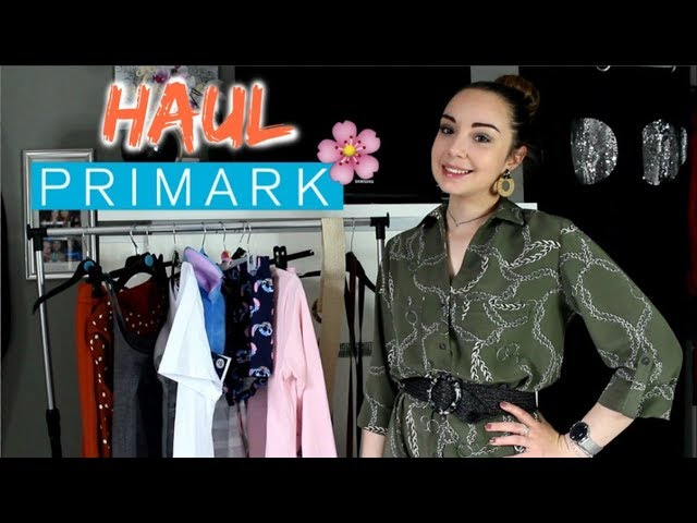 HAUL PRIMARK PRINTEMPS + TRY ON / AVRIL 2019