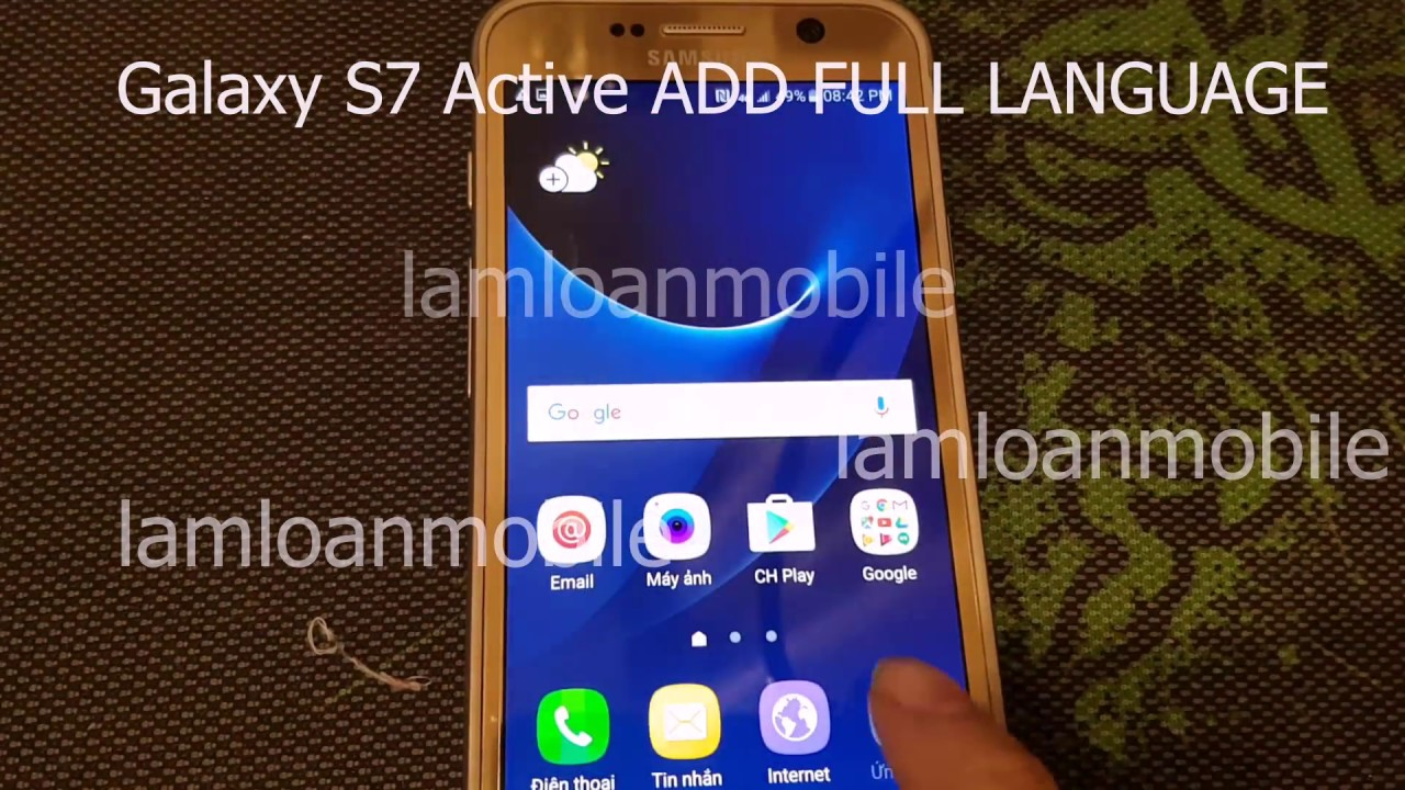 Samsung Galaxy S7 Active G891A rooted | AT&T Samsung Galaxy S7