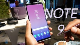Samsung Galaxy Note 9 hands-on: More of everything!
