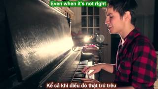 [ Lyric & Vietsub ] Try - Pink ( cover by Sam Tsui )