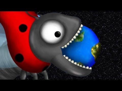 Giant Ladybug Eats The Earth - Tasty Planet Forever | Pungence