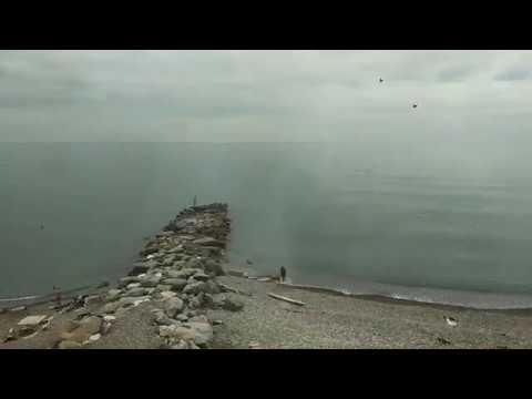 🌊 Вид на море из поезда, участок Туапсе - Сочи / Лето 2019 ⚓