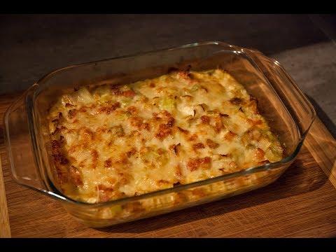 gratin-de-poireaux,-lardons-au-parmesan-et-comté-|-la-cuisine-de-monica