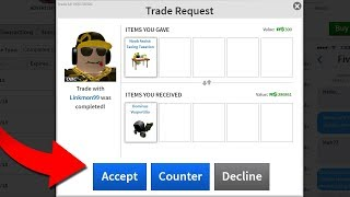 RICHEST ROBLOXIAN GAVE ME FREE DOMINUS! (Linkmon99)