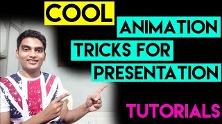 PowerPoint - Cool Animation Tricks | Microsoft PowerPoint Tutorials | PowerPoint Animation |