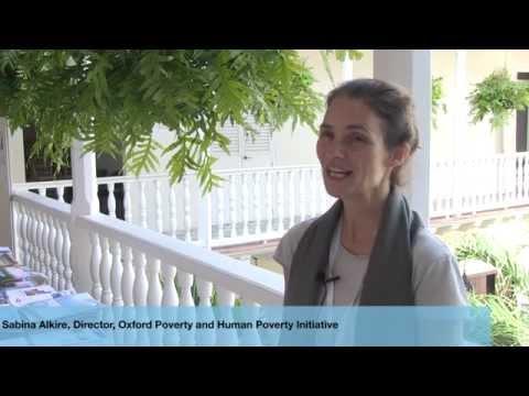 Sabina Alkire at the Cartagena Data Festival - YouTube