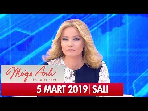 Müge Anlı ile Tatlı Sert 5 Mart 2019 Salı - Tek Parça