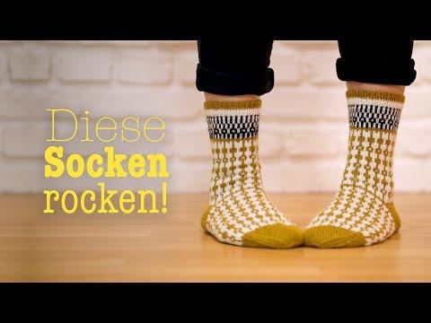 """Youtube-Tutorial: Die schönsten Socken aller Zeiten – zum TOPP Buch """"SoxxBook by Stine & Stitch"""""""