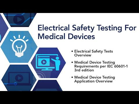 Electrical Safety Testing For Medical Devices