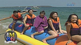 bubble gang behind the scenes banana boat ride