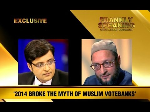 Frankly Speaking With Asaduddin Owaisi - Part 1