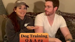 Dog Training Question and Answer-# 2