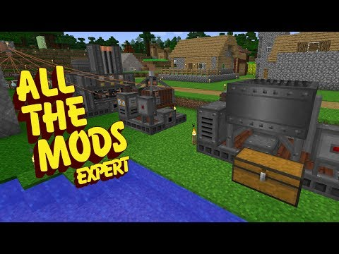 All The Mods Expert Mode - IMMERSIVE MACHINES [E20] (Minecra