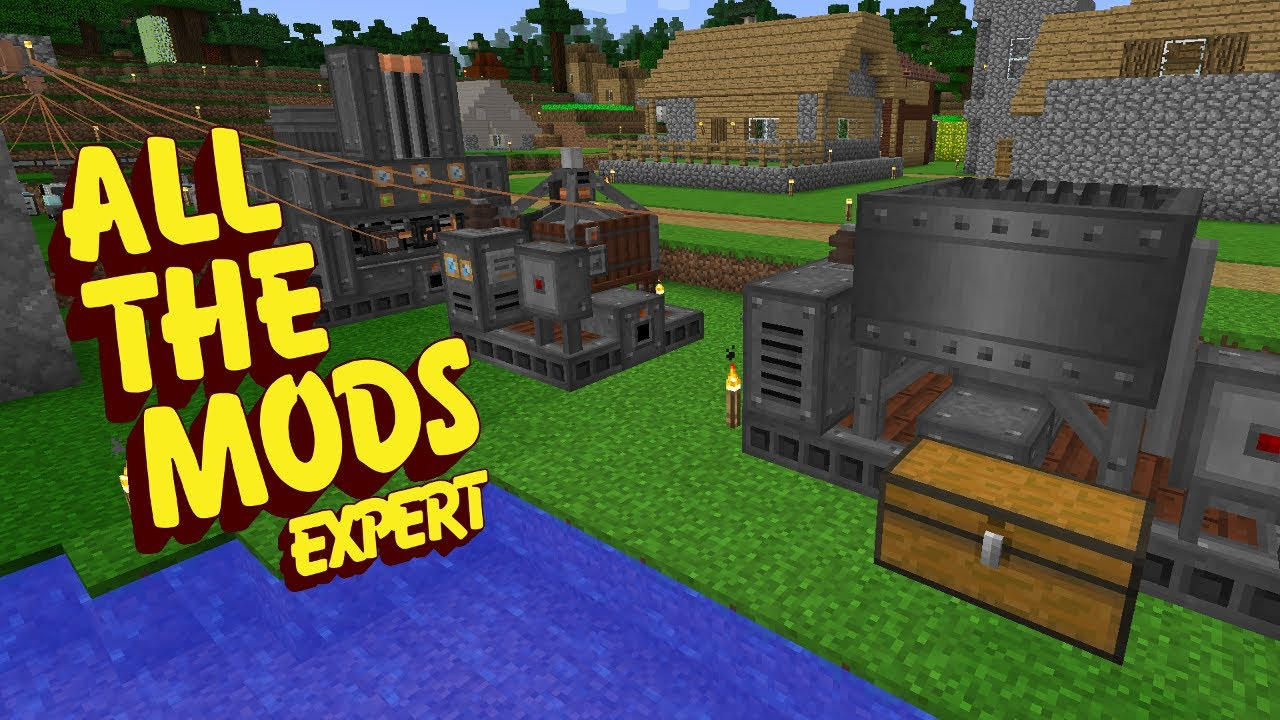 All The Mods Expert Mode IMMERSIVE MACHINES E20 (Minecraft