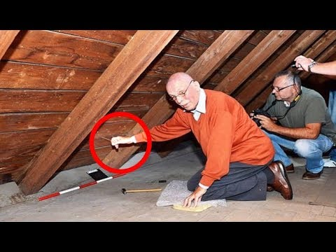 Grandpa Finds Weird String In Attic Wall, Then Pulls It To Reveal Family Secret