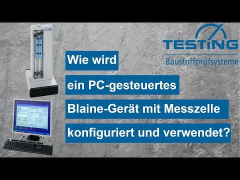 Die Richtige Bedienung Des PC-gesteuerten Blaine-Gerätes TESTING 1.0297