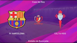 eFootball 2020 Master League Season 2030 2031 Barcelona vs Celta Vigo