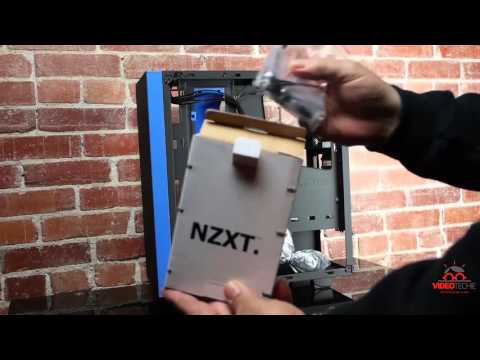 NZXT S340 Unboxing and Review - VideoTechie.com