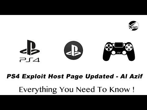 PS4 Jailbreak - Exploit Host Page Updated by Al Azif - 8/4/2018