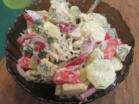 салат из цветной капусты пошагово
