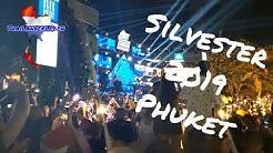 Silvester 2020 Feuerwerk & Party am Strand von Patong auf Phuket war der Hammer!