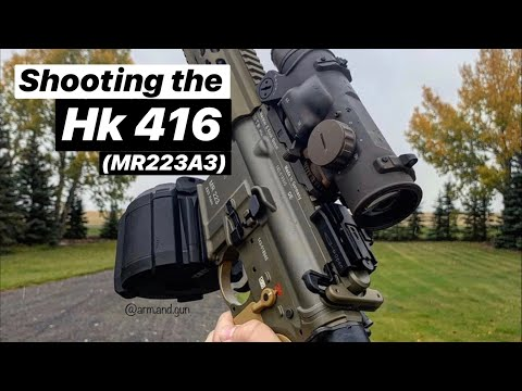 Shooting the Hk 416A5 // mr223A3
