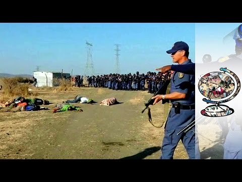 Police Covering Up A Massacre In South Africa (2013)