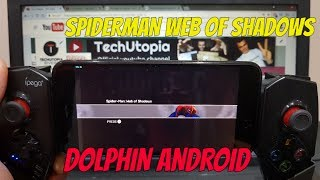 Spiderman Web of Shadows Android Gameplay Dolphin GC Wii Emulator test Wii games