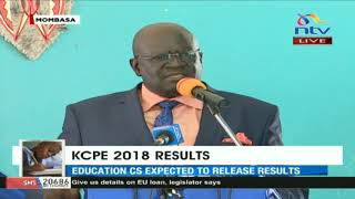 """""""I will give my last drop of blood to Starehe Boys Centre."""" KNEC CEO George Magoha"""