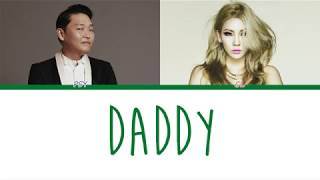 PSY – DADDY (feat. CL) Lyrics [Fin, Han, Rom]