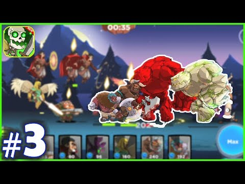 Castle Kingdom Crush Games All LVL Powerful Heroes Andorid IOS Part 3
