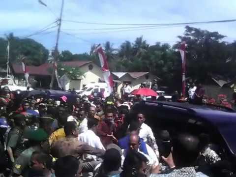 Blusukan Jokowi di Mamuju Utara