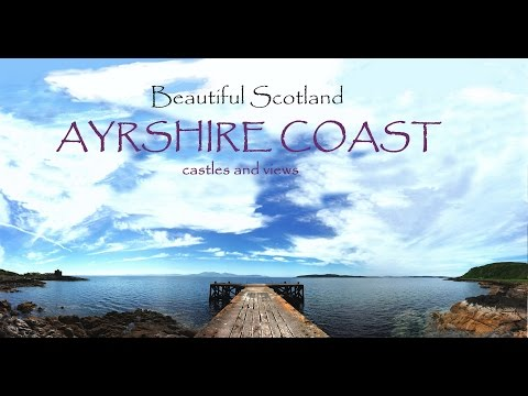 A Beautiful Scotland - Ayrshire Coast and Castles - Drone Footage