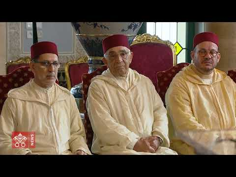 Joint signing of appeal for Jerusalem by Pope Francis and King Mohammed VI – 2019.03.30