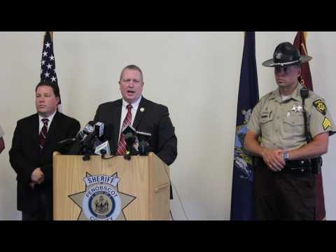 Penobscot County Sheriff Holds News Conference on Fatal Pit Bull Attack