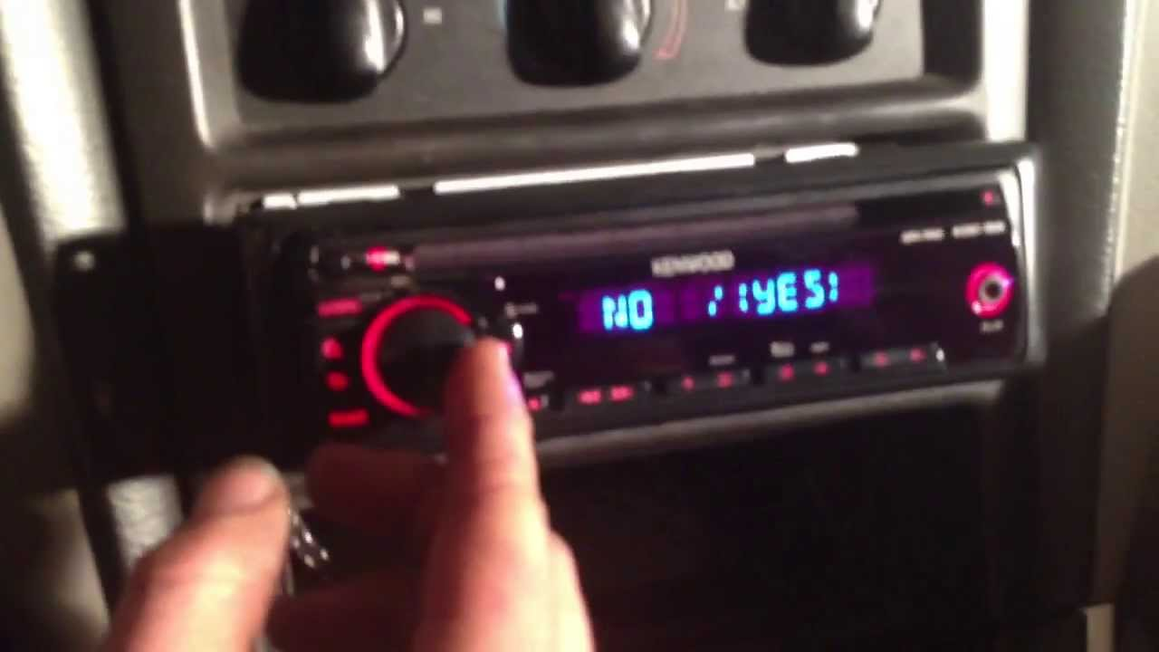 How To Install A Head Unit In 2000 Ford Mustang Youtube Contour Radio Wiring Diagram