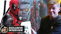 DEADPOOL 2 Sketch Interview w/ Creator Rob Liefeld (Comic Con 2018) - Продолжительность: 18 минут
